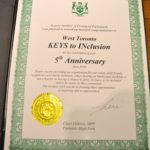 Awarded by the Ontario Provincial Member of Parliament for Parkdale-High Park